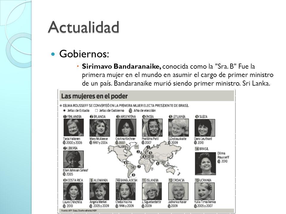 Actualidad Gobiernos: