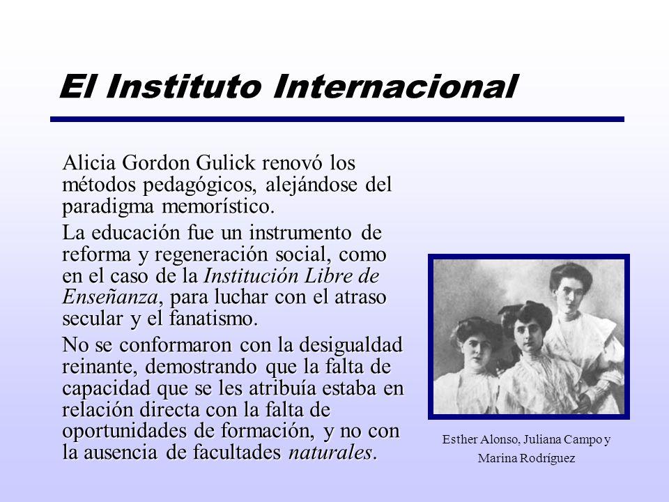 El Instituto Internacional