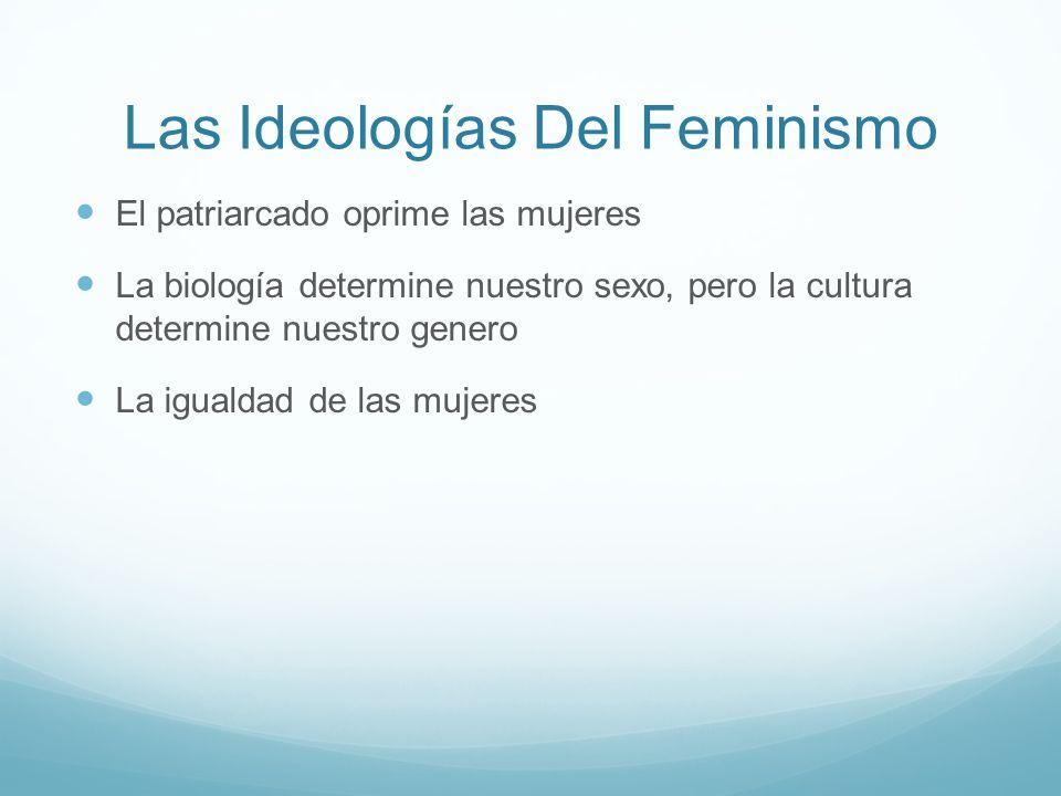 Las Ideologías Del Feminismo