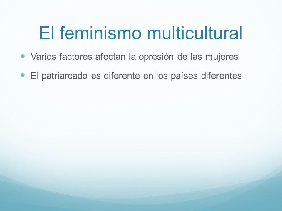 El feminismo multicultural
