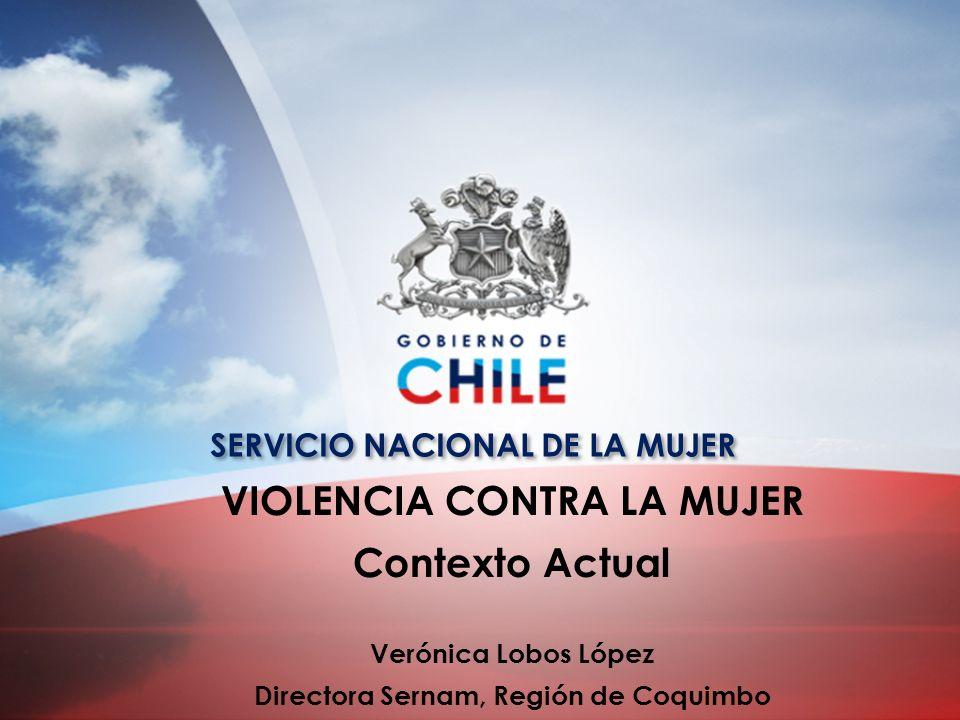 VIOLENCIA CONTRA LA MUJER Directora Sernam, Región de Coquimbo