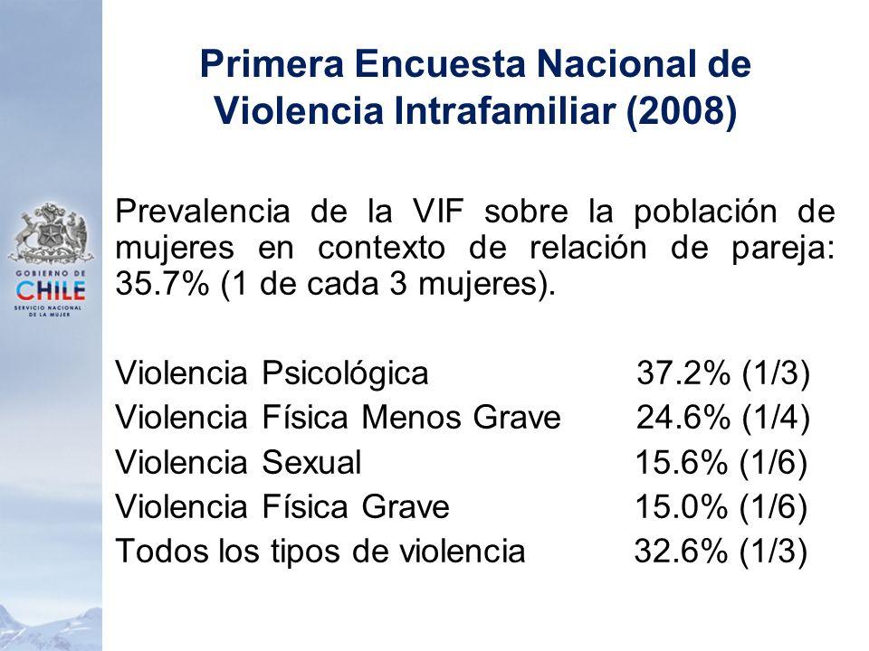 Primera Encuesta Nacional de Violencia Intrafamiliar (2008)