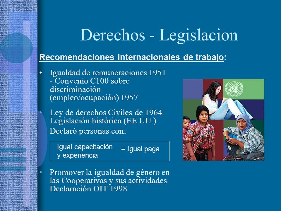 Derechos - Legislacion