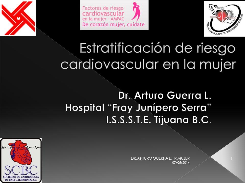 Estratificación de riesgo cardiovascular en la mujer