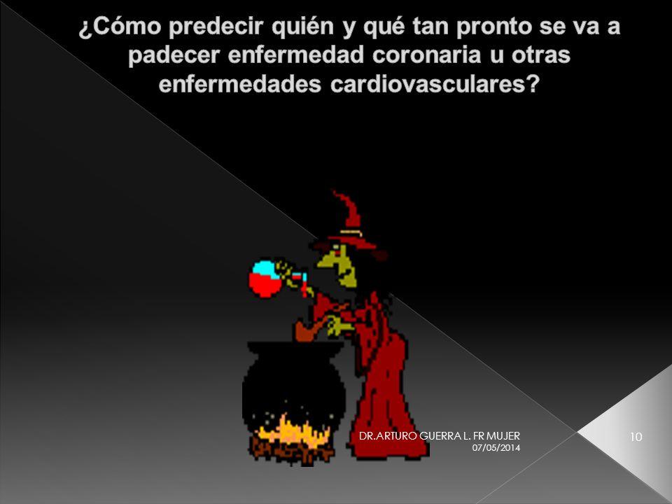 ¿Cómo predecir quién y qué tan pronto se va a padecer enfermedad coronaria u otras enfermedades cardiovasculares