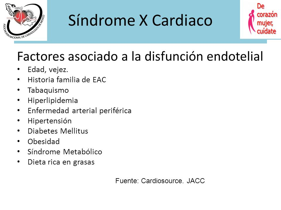 Síndrome X Cardiaco Síndrome X Cardiaco