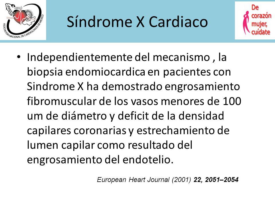 Síndrome X Cardiaco
