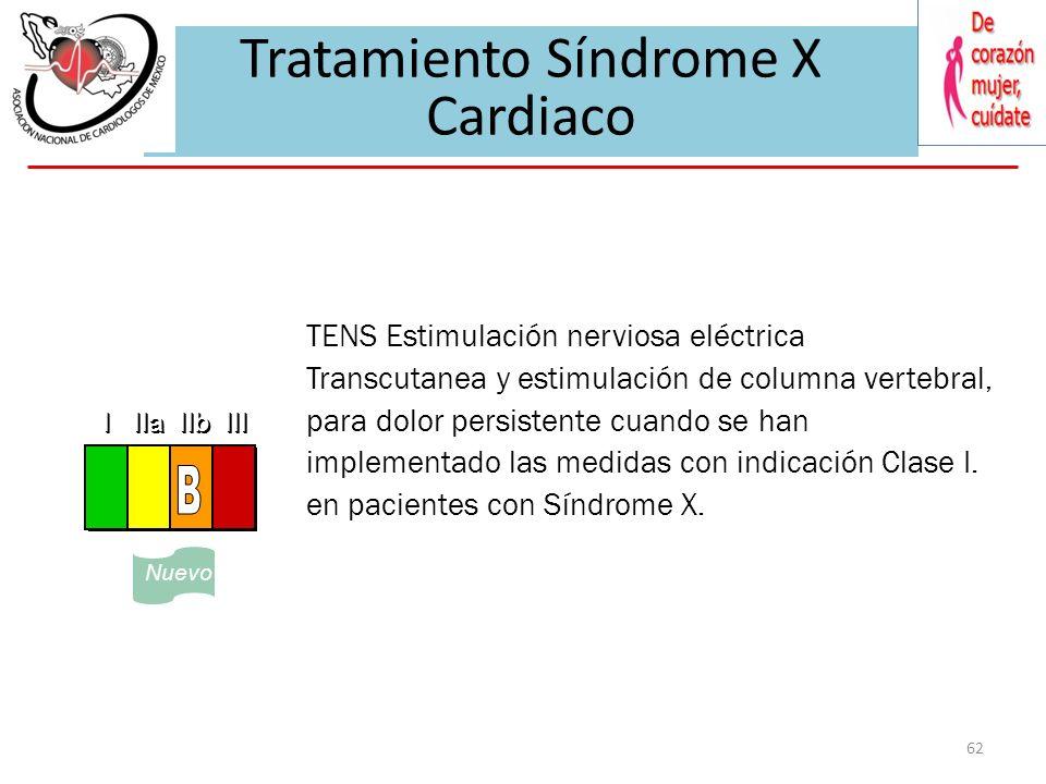 Cardiovascular Syndrome X