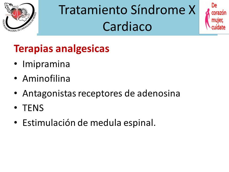 Tratamiento Síndrome X Cardiaco