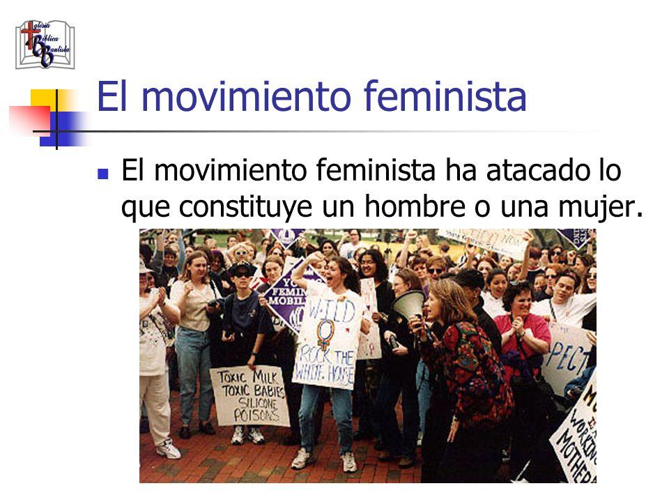 El movimiento feminista