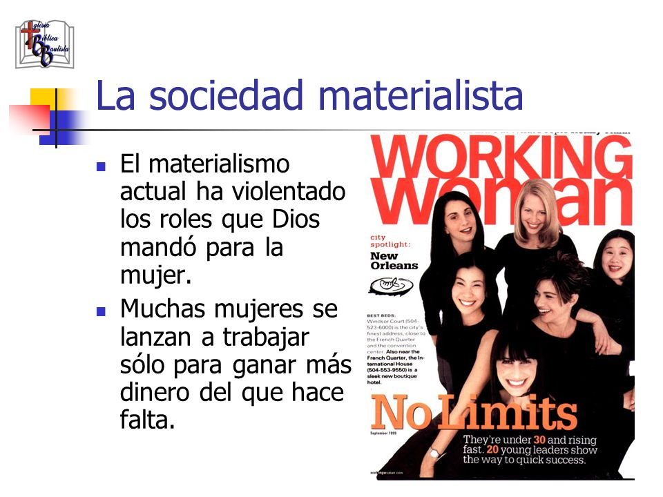 La sociedad materialista