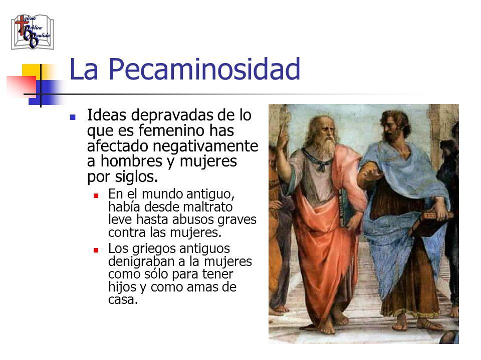 La Pecaminosidad Ideas depravadas de lo que es femenino has afectado negativamente a hombres y mujeres por siglos.