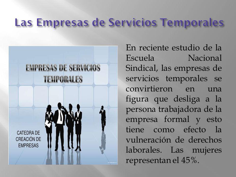 Las Empresas de Servicios Temporales
