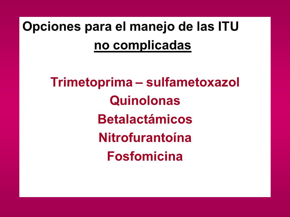 Trimetoprima – sulfametoxazol