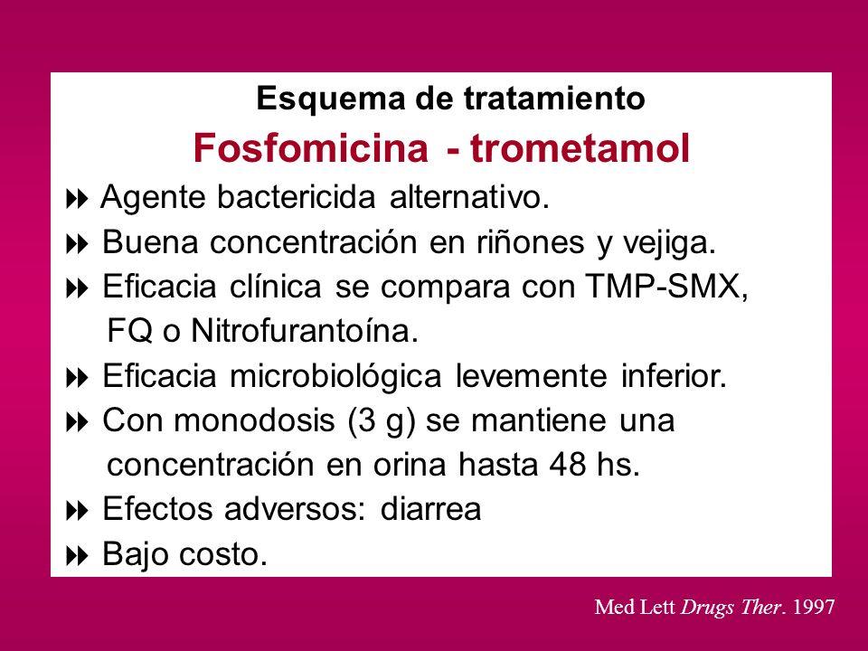 Fosfomicina - trometamol