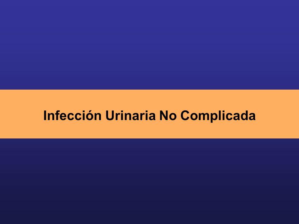 Infección Urinaria No Complicada