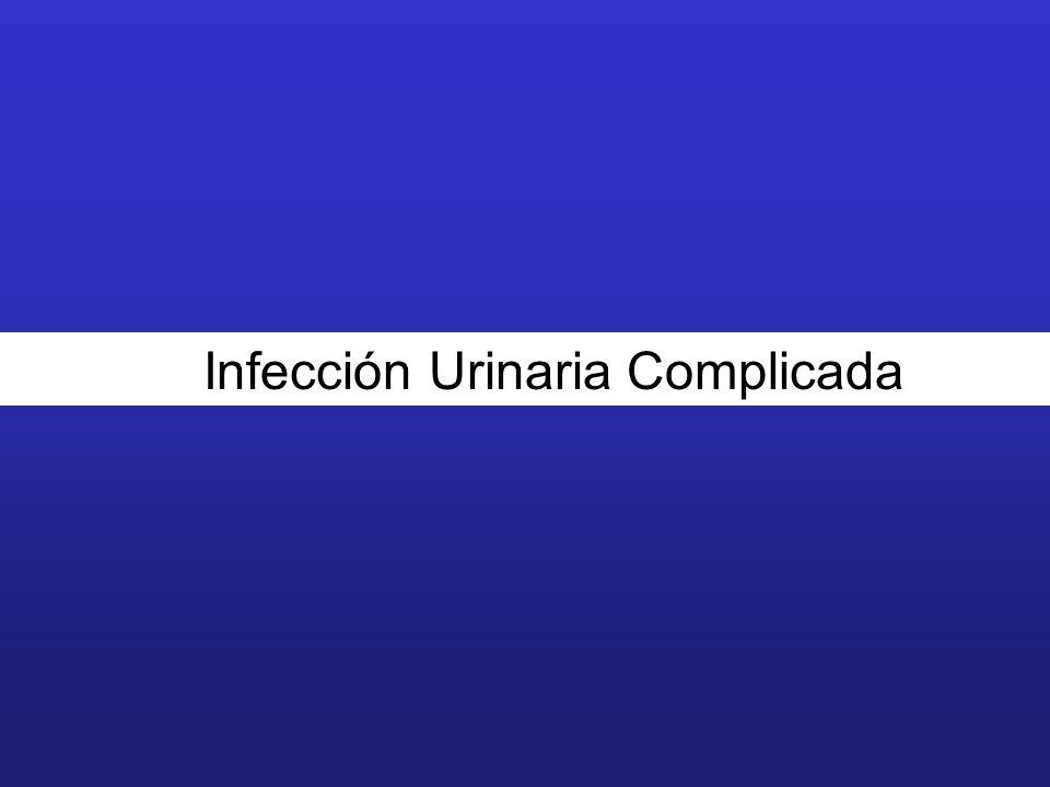 Infección Urinaria Complicada