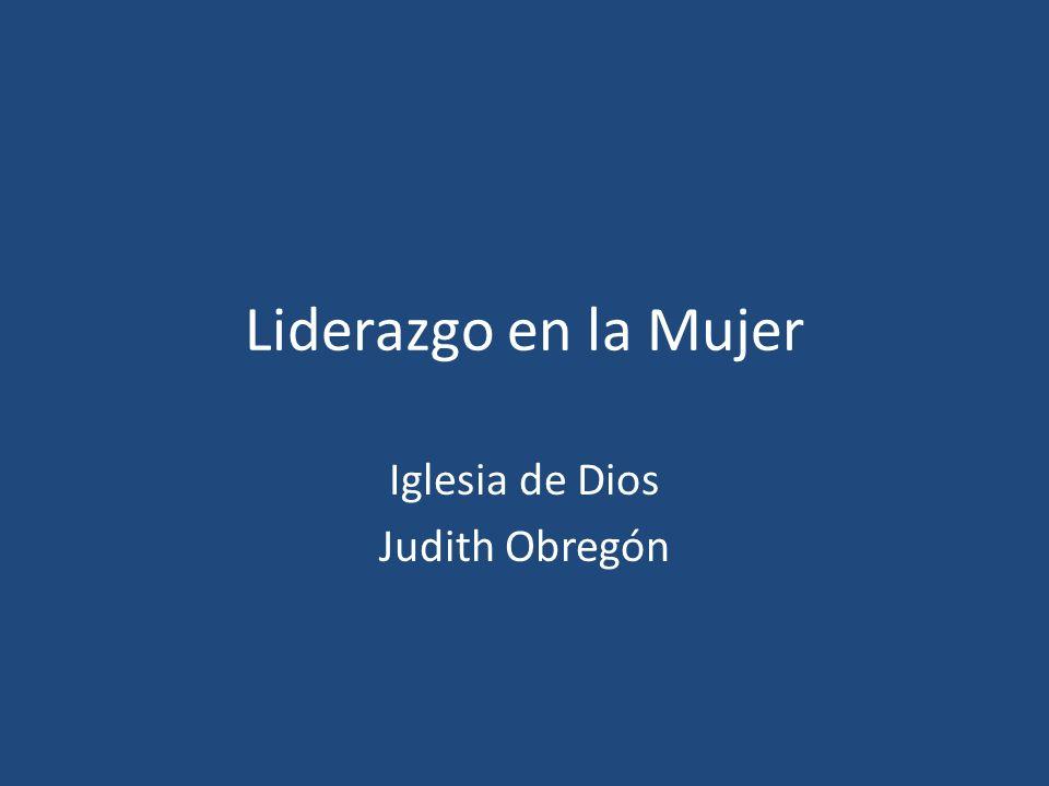 Iglesia de Dios Judith Obregón