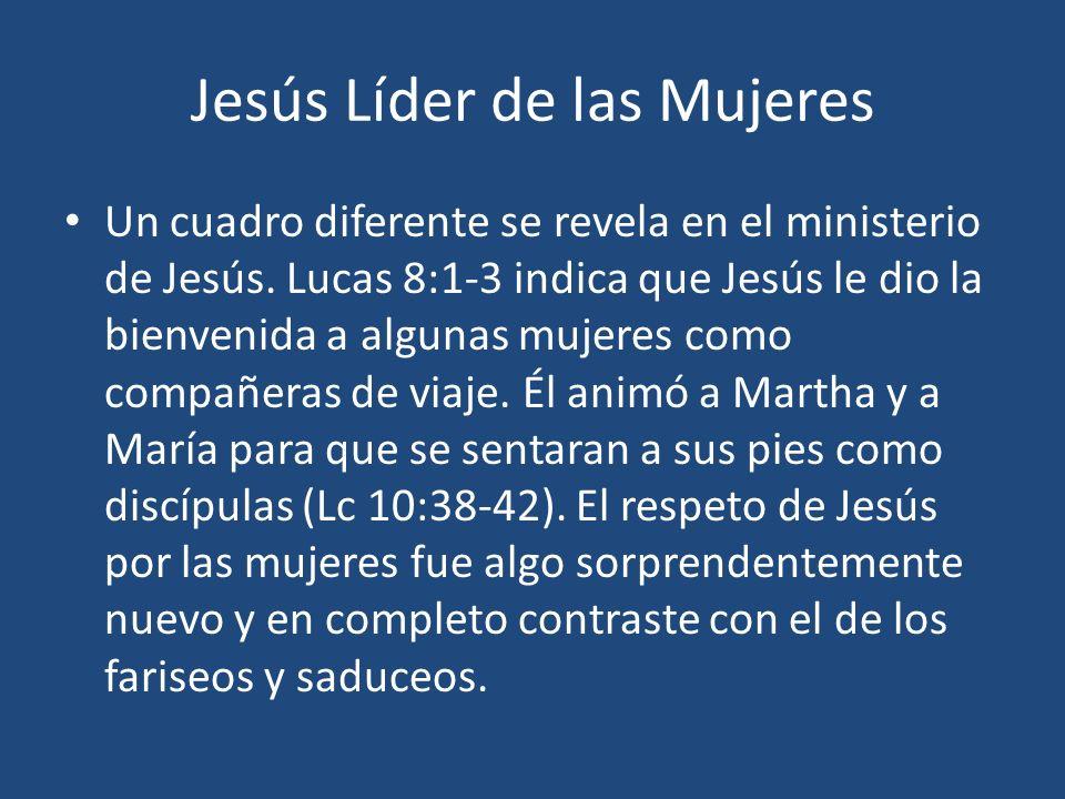 Jesús Líder de las Mujeres