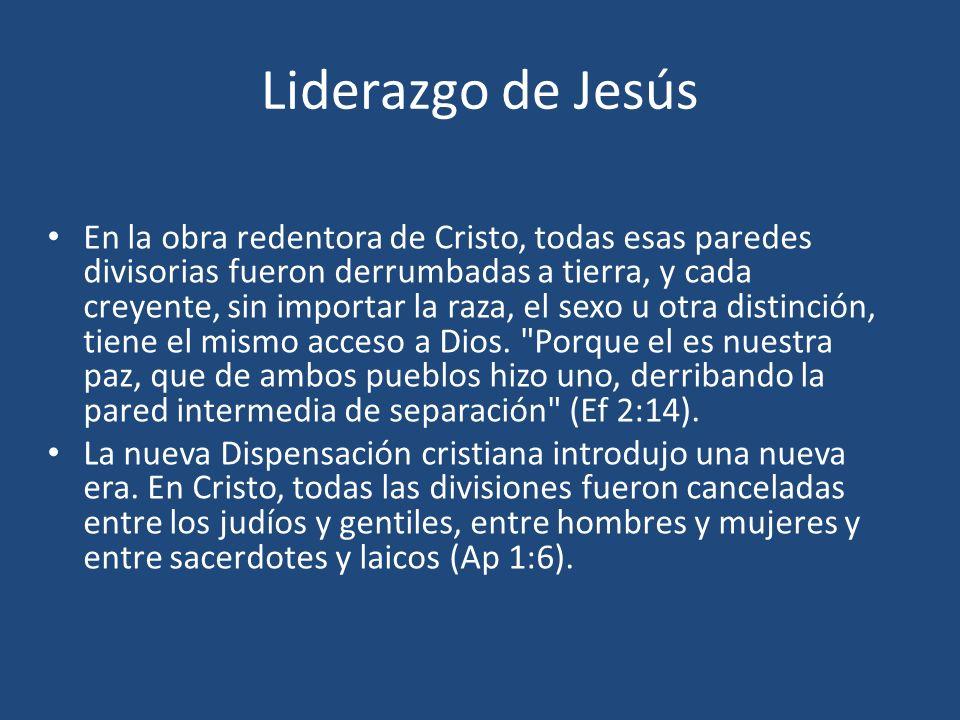 Liderazgo de Jesús