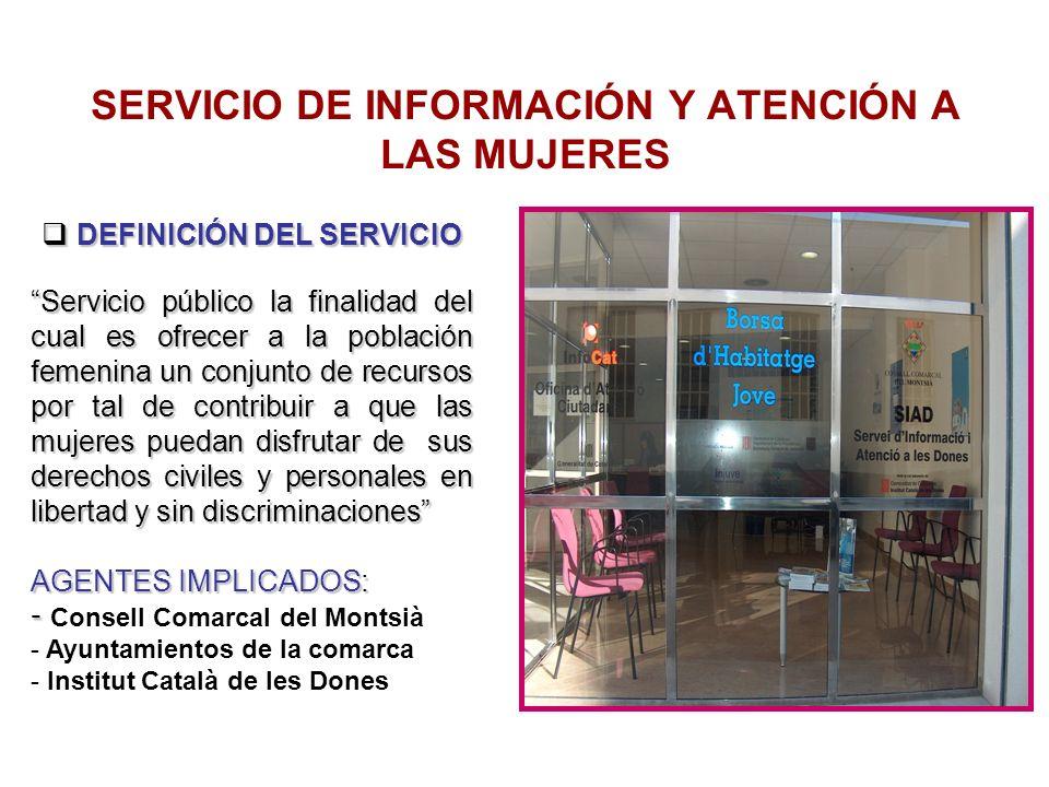 SERVICIO DE INFORMACIÓN Y ATENCIÓN A LAS MUJERES