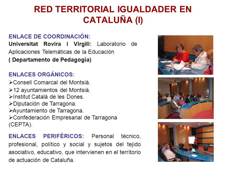 RED TERRITORIAL IGUALDADER EN CATALUÑA (I)