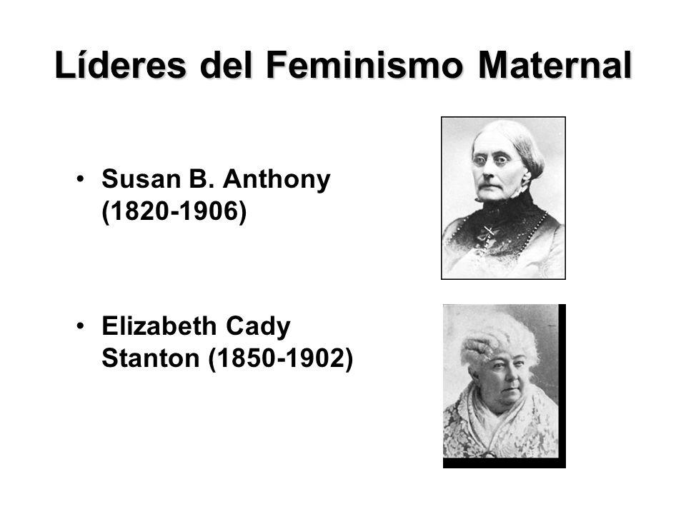 Líderes del Feminismo Maternal