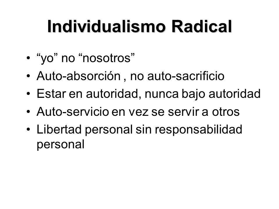Individualismo Radical