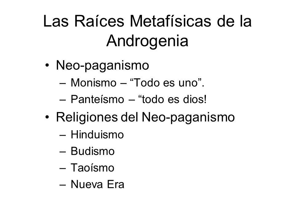 Las Raíces Metafísicas de la Androgenia