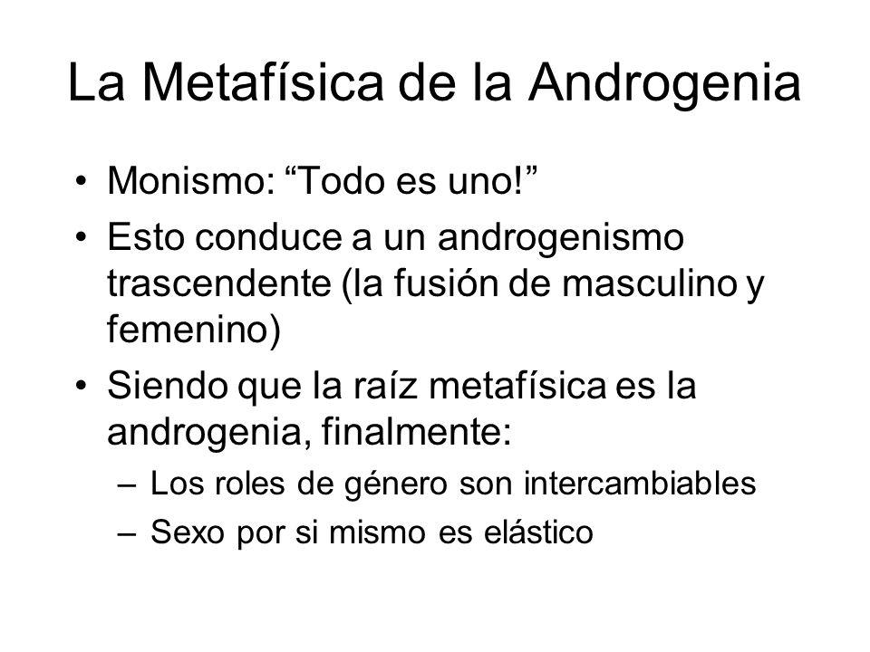 La Metafísica de la Androgenia