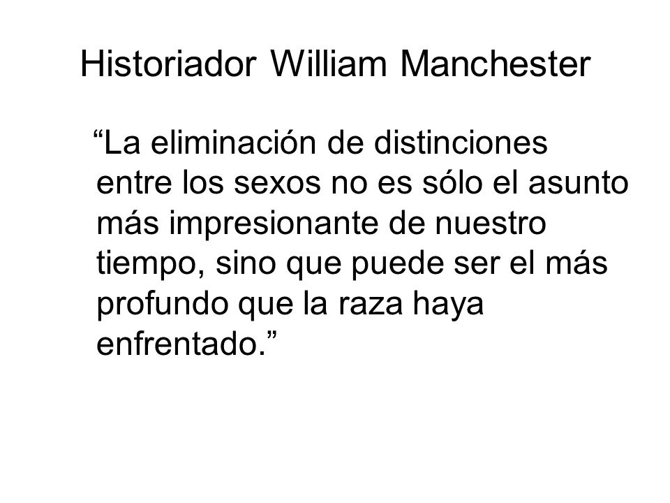 Historiador William Manchester