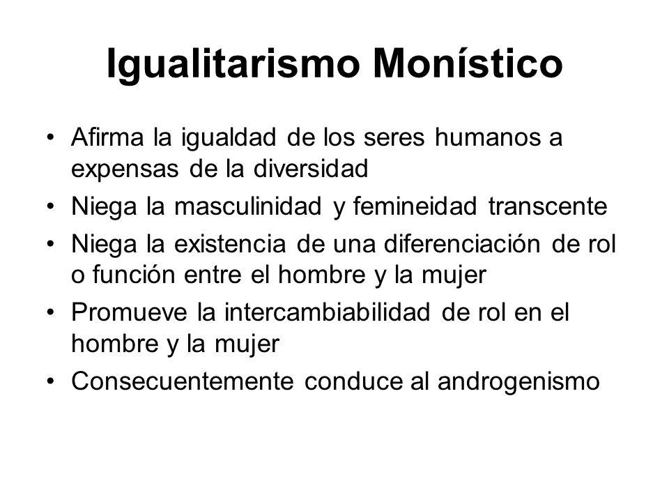Igualitarismo Monístico