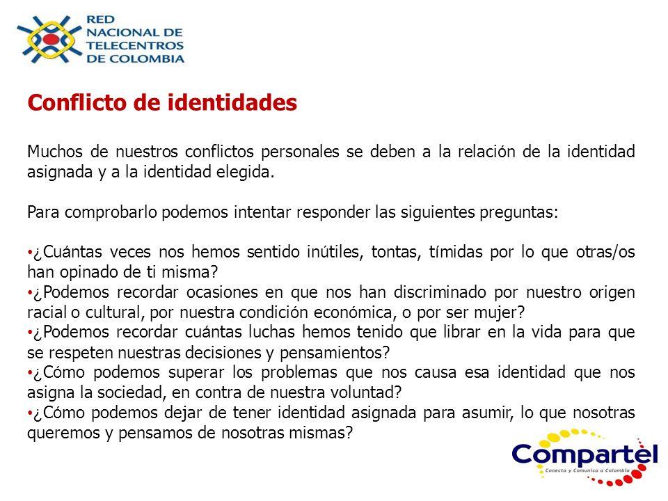 Conflicto de identidades