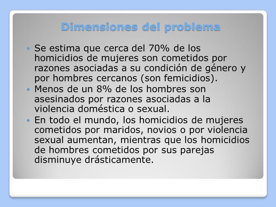 Dimensiones del problema