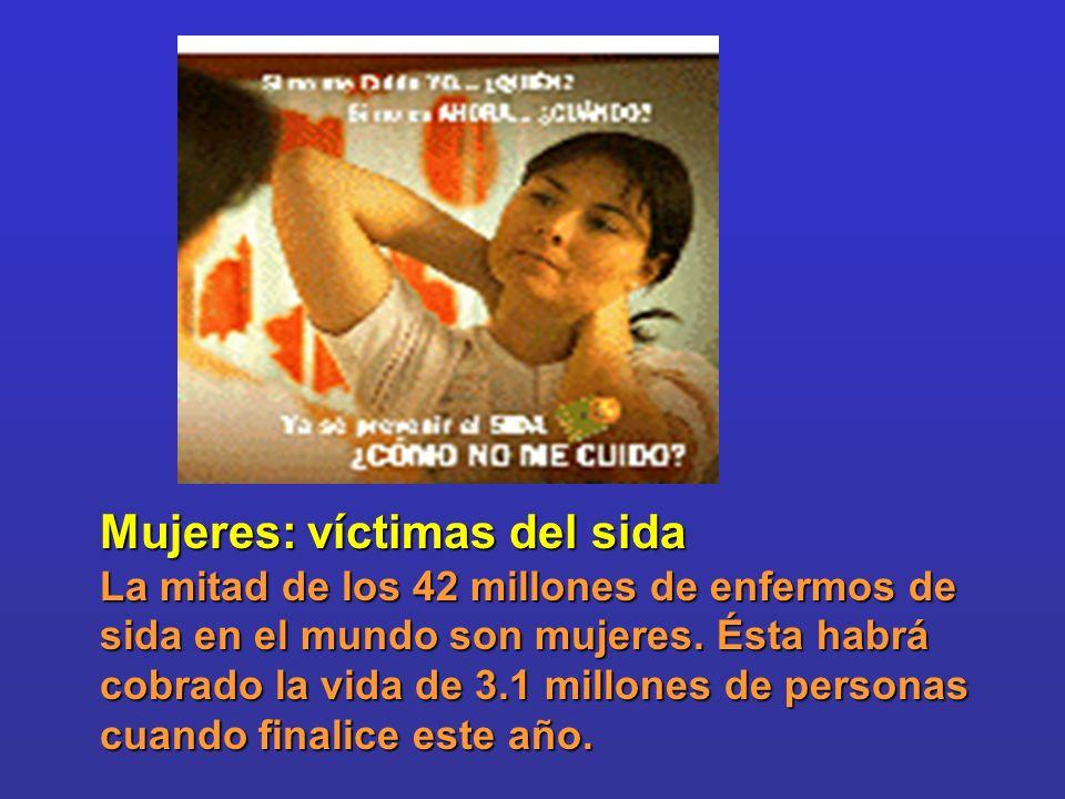 Mujeres: víctimas del sida
