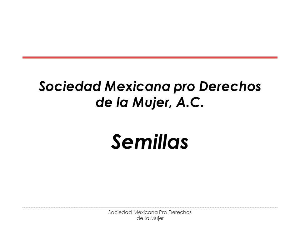 Sociedad Mexicana pro Derechos de la Mujer, A.C.