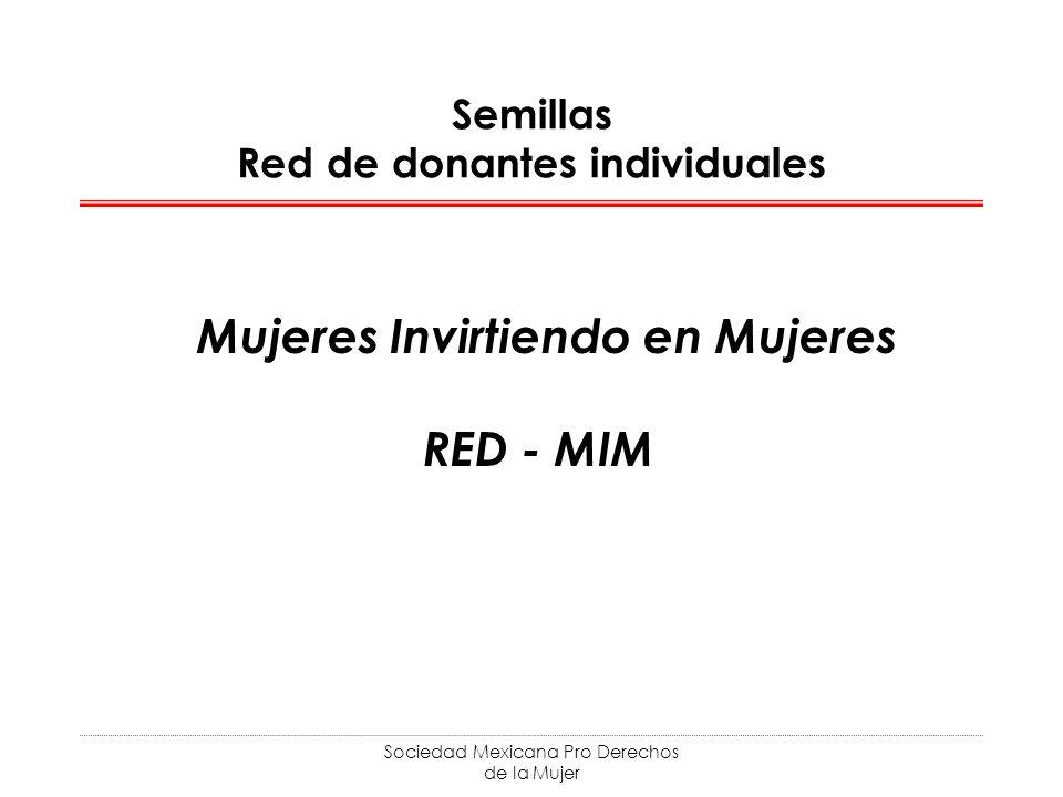 Semillas Red de donantes individuales