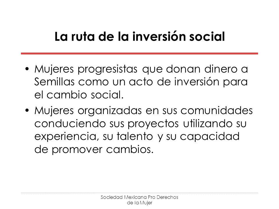 La ruta de la inversión social