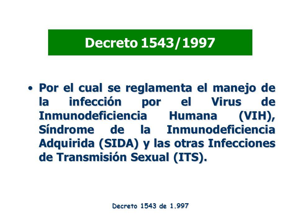 Decreto 1543/1997