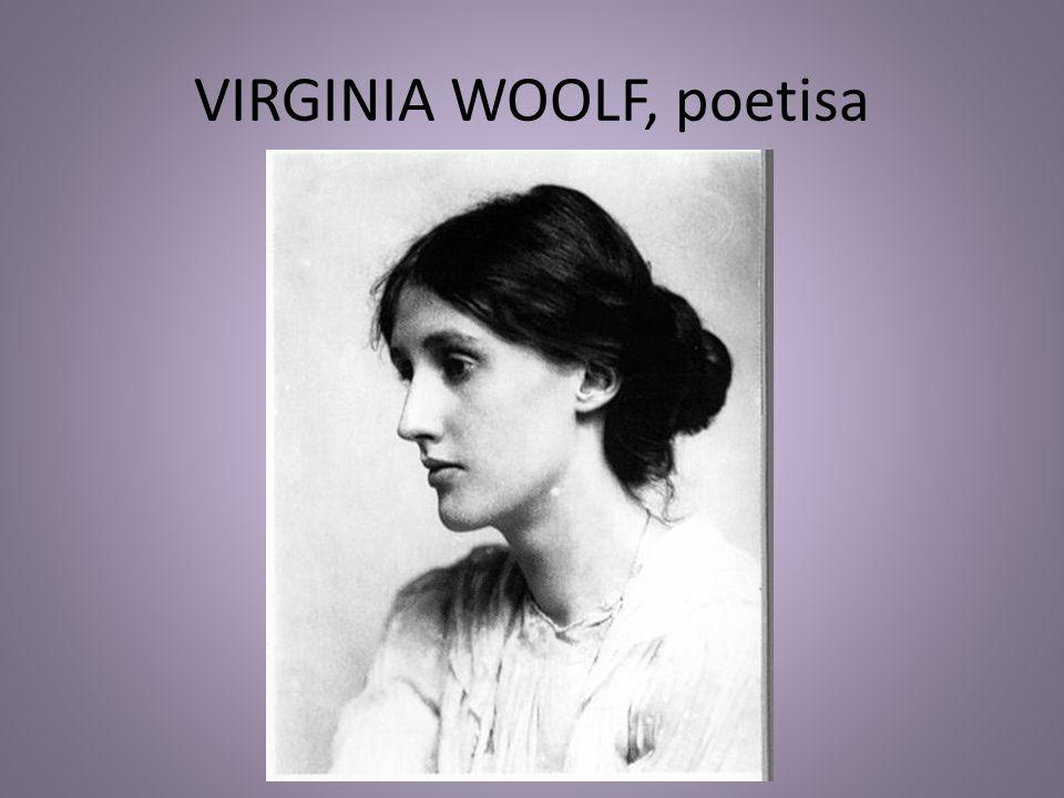 VIRGINIA WOOLF, poetisa