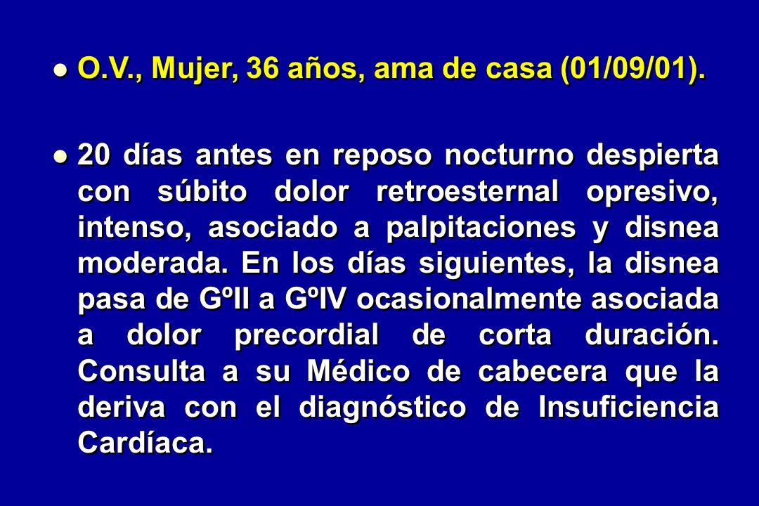 O.V., Mujer, 36 años, ama de casa (01/09/01).