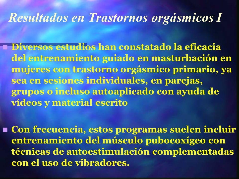 Resultados en Trastornos orgásmicos I