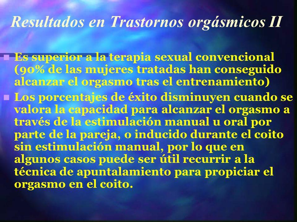 Resultados en Trastornos orgásmicos II
