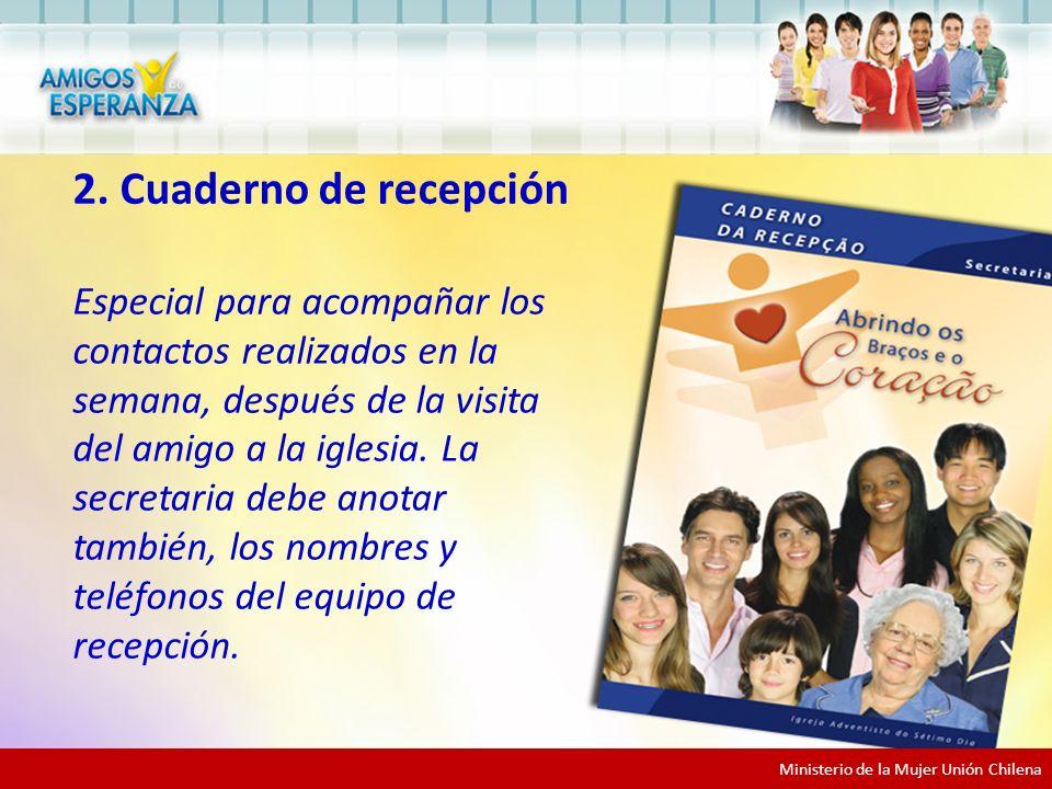 2. Cuaderno de recepción