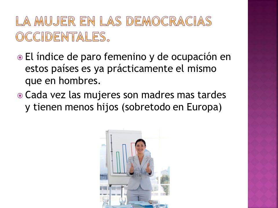 La mujer en las democracias occidentales.