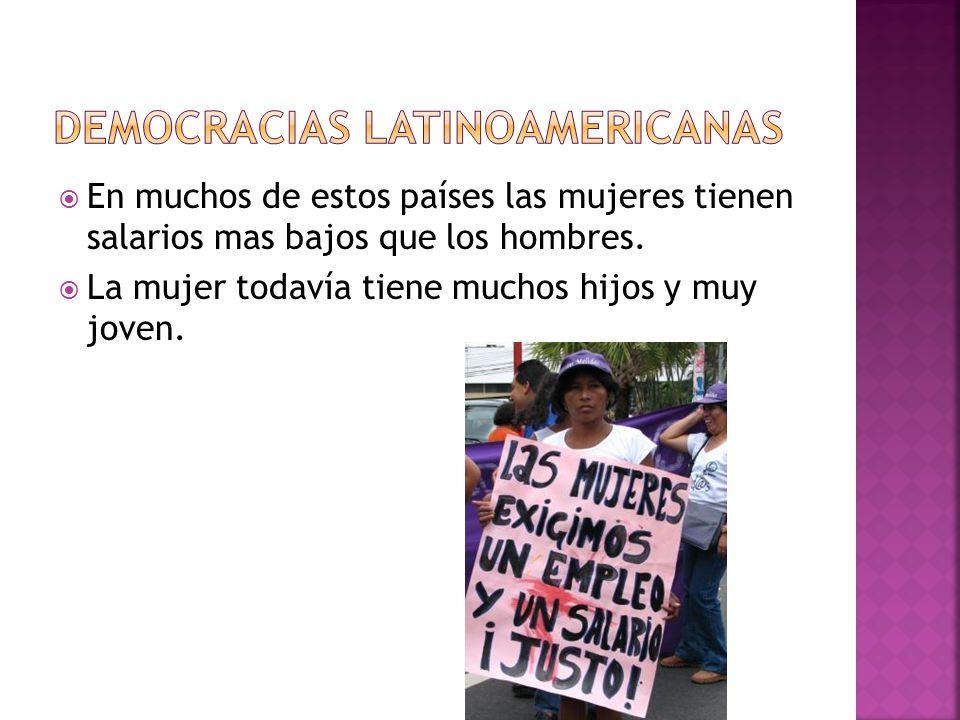 Democracias latinoamericanas