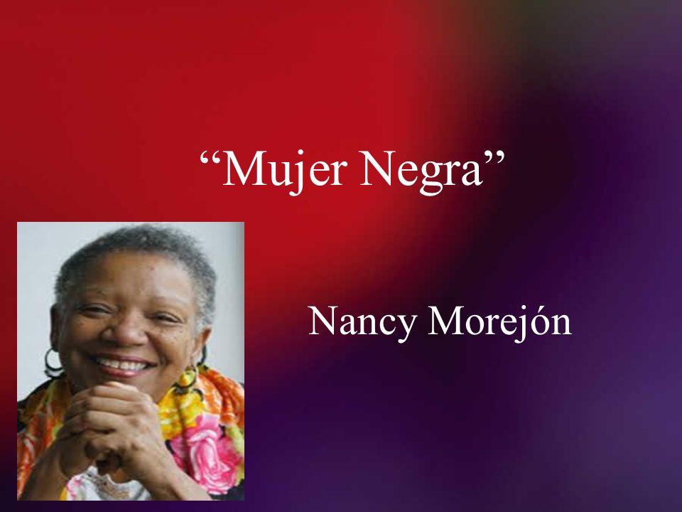 Mujer Negra Nancy Morejón