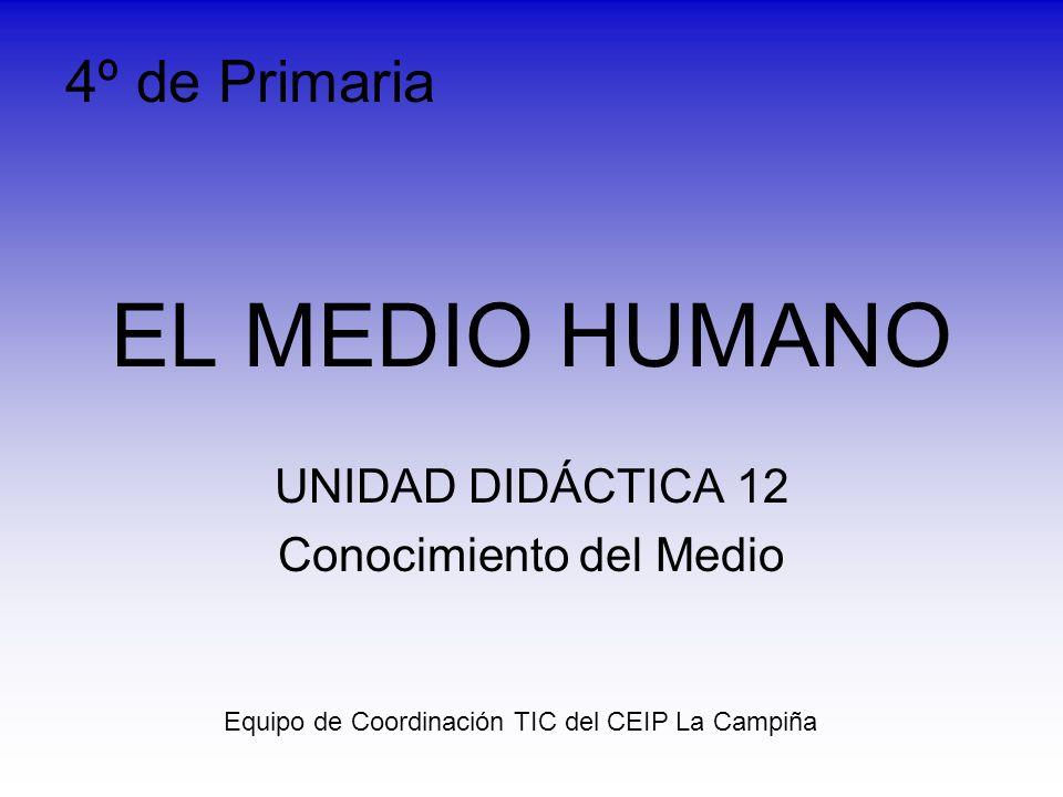 UNIDAD DIDÁCTICA 12 Conocimiento del Medio