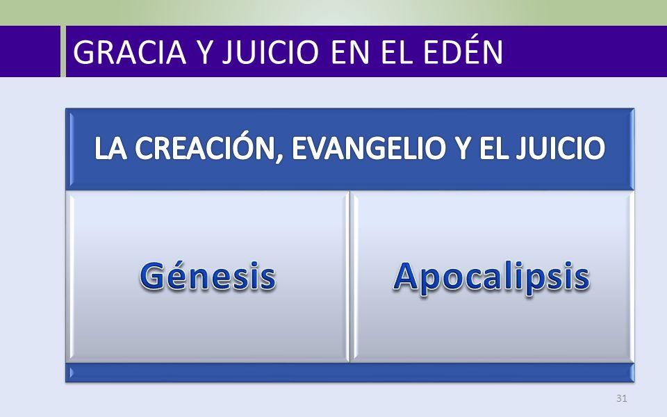 LA CREACIÓN, EVANGELIO Y EL JUICIO