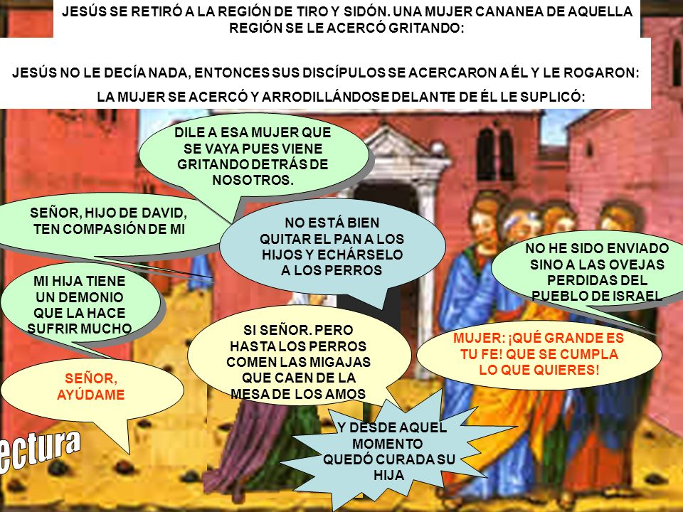 JESÚS SE RETIRÓ A LA REGIÓN DE TIRO Y SIDÓN